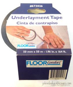 Underlayment Tape