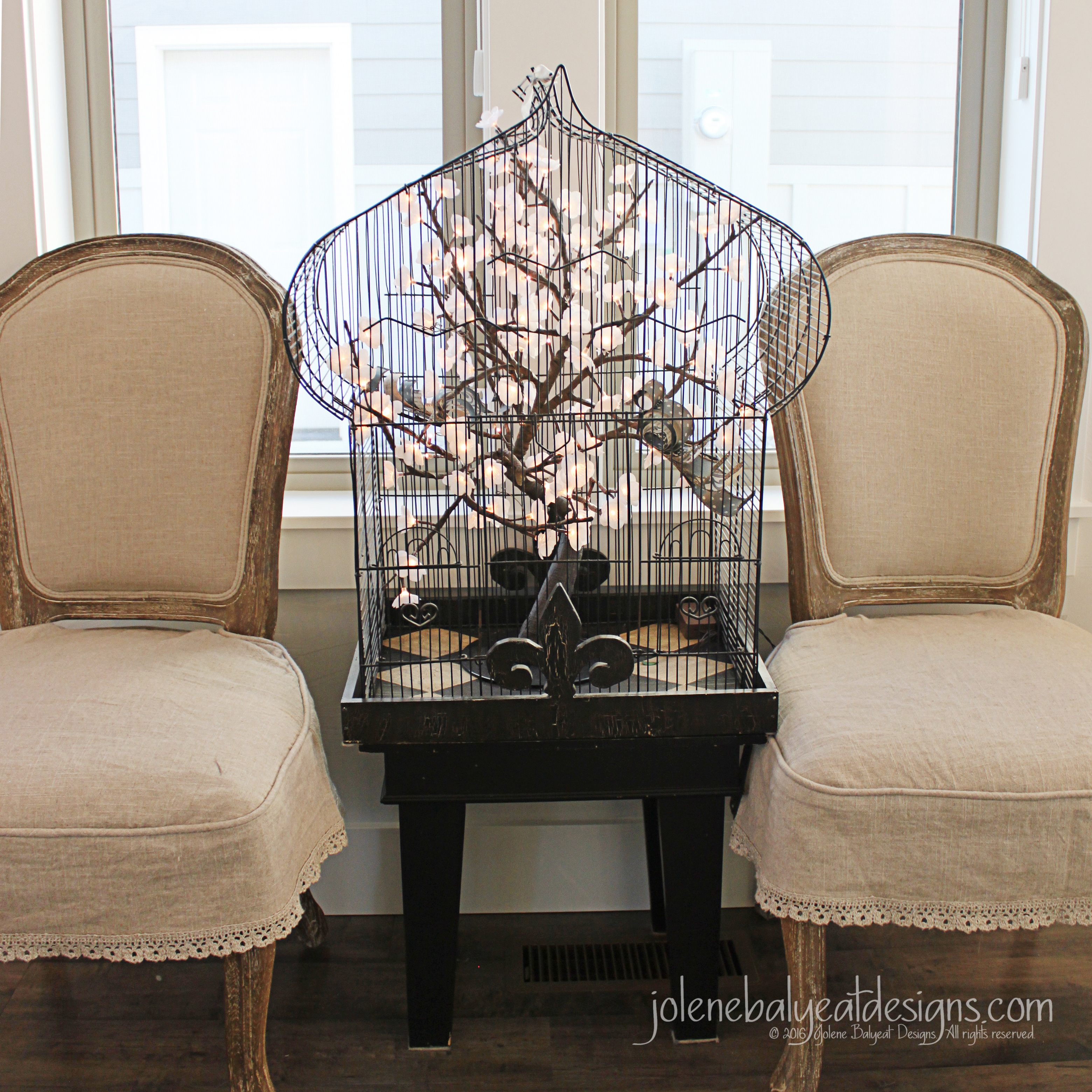 Bird Cage and Chairs